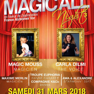 SOIREE CARITATIVE FRANCE ALZHEIMER VAR : MAGIC'ALL NIGHT3